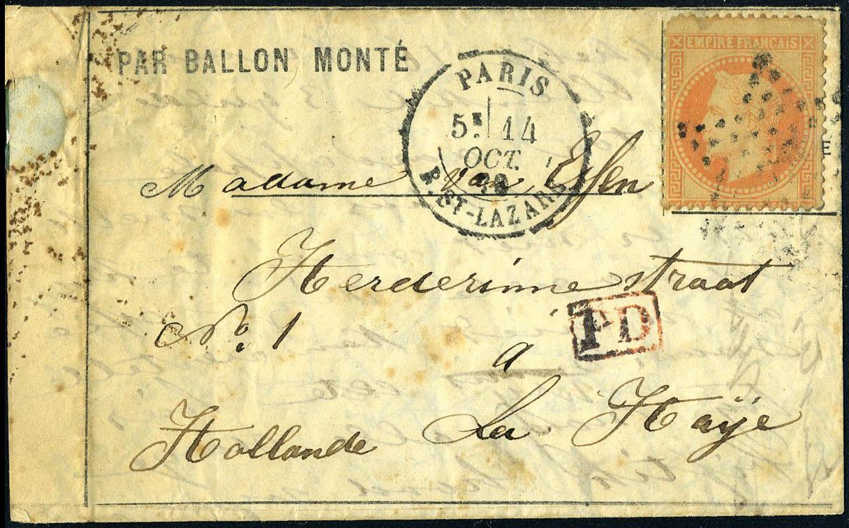 Lot 2 - France ballons montés -  Francois Feldman F.C.N.P François FELDMAN sale #122