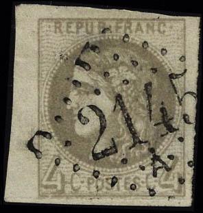 Lot 202 - France gouvernement provisoire -  Francois Feldman F.C.N.P François FELDMAN sale #122