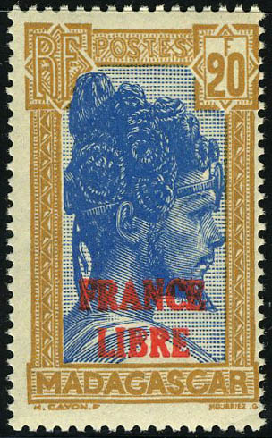 Lot 2310 - madagascar  -  Francois Feldman F.C.N.P François FELDMAN sale #122