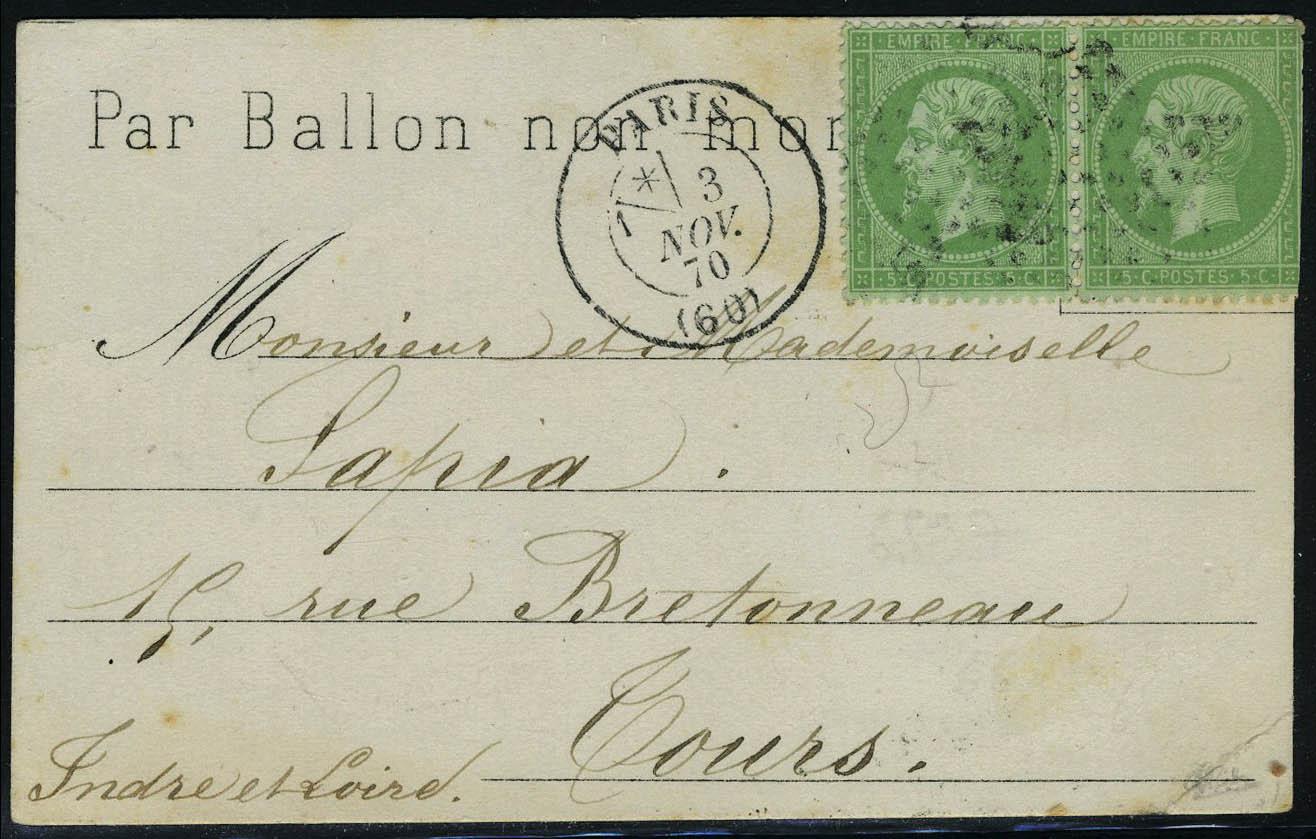 Lot 5 - France ballons montés -  Francois Feldman F.C.N.P François FELDMAN sale #122