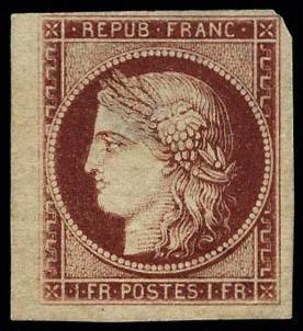 Lot 54 - France 2.eme.republique -  Francois Feldman F.C.N.P François FELDMAN sale #122