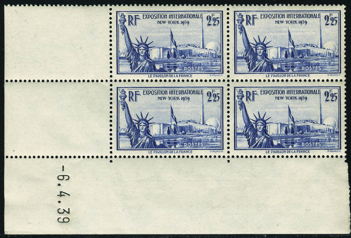 Lot 606 - France a partir de 1900 -  Francois Feldman F.C.N.P François FELDMAN sale #122